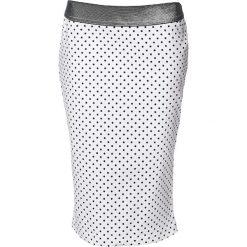 Spódnice wieczorowe: Spódnica w kolorze białym ze wzorem