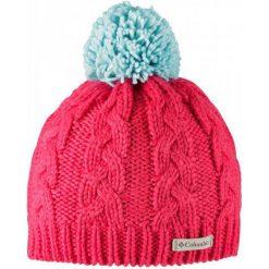 Columbia Czapka In-Bounds Beanie Red Camellia Spray Os. Czerwone czapki zimowe damskie Columbia, z tkaniny. W wyprzedaży za 85,00 zł.