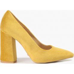 Czółenka: Czółenka żółte