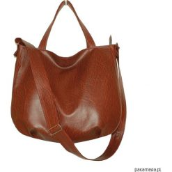 Torebki i plecaki damskie: 5216 ankate, torba hobo, kasztan, brązowa torba