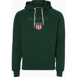 Gant - Męska bluza nierozpinana, zielony. Zielone bluzy męskie rozpinane marki GANT, m, z bawełny. Za 449,95 zł.