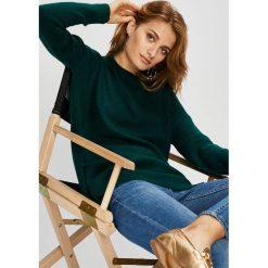 Answear - Sweter. Czarne swetry oversize damskie ANSWEAR, l, z dzianiny. W wyprzedaży za 99,90 zł.