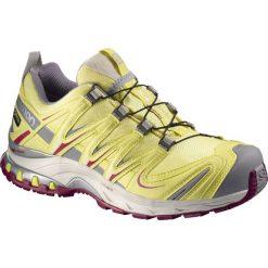 Salomon Buty damskie XA Pro 3D GTX W Yellow/Purple r. 37 1/3 (379196). Czarne buty sportowe damskie marki Salomon, z gore-texu, na sznurówki, outdoorowe, gore-tex. Za 381,99 zł.