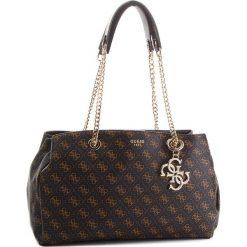 Torebka GUESS - HWSE71 03090  BRO. Brązowe torebki klasyczne damskie Guess, z aplikacjami, ze skóry ekologicznej. Za 649,00 zł.