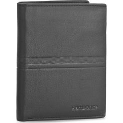 Duży Portfel Męski SAMSONITE - 001-015A0-0098-01 Black. Czarne portfele męskie marki Samsonite, ze skóry. Za 149,00 zł.