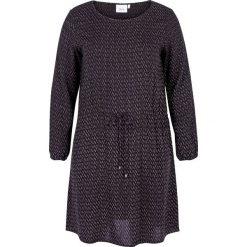 Sukienki hiszpanki: Rozkloszowana sukienka z wzorzystego materiału, długość midi (3/4)