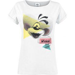 Diddl Since 1990! Koszulka damska biały. Białe t-shirty damskie Diddl, m, z nadrukiem, z okrągłym kołnierzem. Za 62,90 zł.