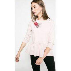 Answear - Bluza Blossom Mood. Szare bluzy rozpinane damskie ANSWEAR, l, z bawełny, bez kaptura. W wyprzedaży za 49,90 zł.
