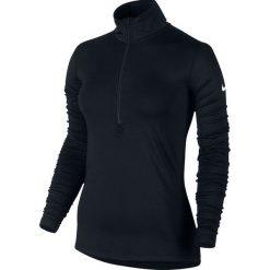 Bluzy damskie: Nike Bluza Damska Pro Warm Long Sleeve Half Zip W Czarna r. XL – (803145-010)