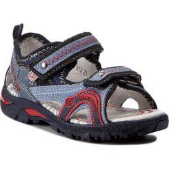 Sandały BARTEK - 16113-X15 Ocean/Biały. Niebieskie sandały męskie skórzane marki Bartek. W wyprzedaży za 169,00 zł.