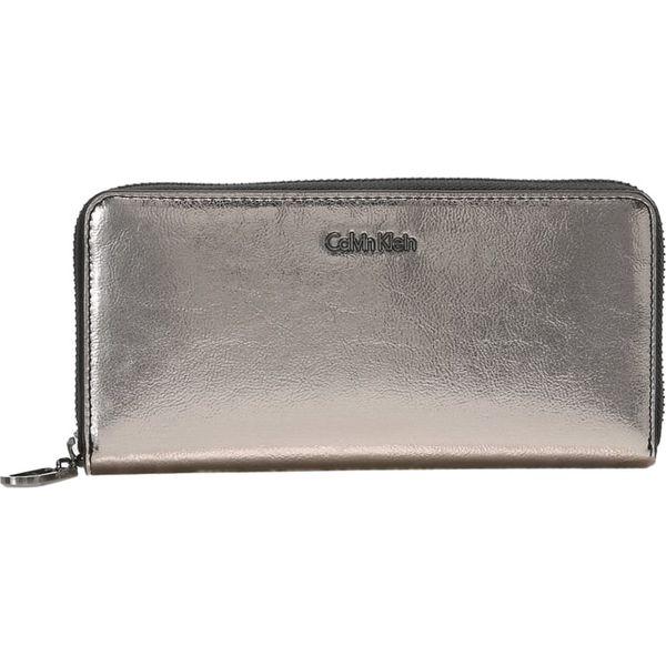 47bf9ecc19e30 Calvin Klein GIFTING LARGE ZIPAROUND Portfel silver - Szare portfele ...