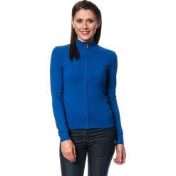 Kardigany damskie: Kardigan w kolorze niebieskim