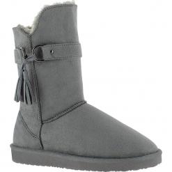 """Kozaki zimowe """"Crawford"""" w kolorze antracytowym. Szare buty zimowe damskie marki Marco Tozzi. W wyprzedaży za 152,95 zł."""