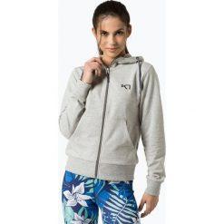 Bluzy rozpinane damskie: Kari Traa - Damska bluza rozpinana, szary
