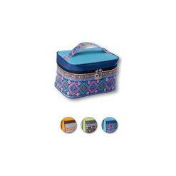Kosmetyczki damskie: TOP CHOICE Kosmetyczka damska kuferek (93913) 1szt