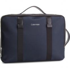 Plecak CALVIN KLEIN - Braced Convert Briefcase K50K42270 Navy 068. Niebieskie plecaki męskie Calvin Klein, z materiału. Za 699,00 zł.