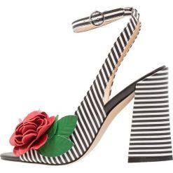 Katy Perry THE GARNET Sandały na obcasie black/white. Brązowe sandały damskie marki Etro. W wyprzedaży za 503,20 zł.