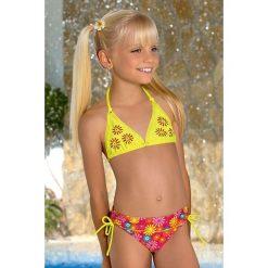Stroje dwuczęściowe dziewczęce: Dziewczęcy kostium kąpielowy Flower M46