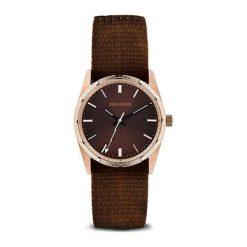 """Zegarki męskie: Zegarek """"ZVF209"""" w kolorze brązowo-różowozłotym"""