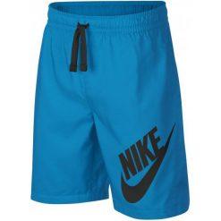 Nike Szorty Chłopięce B Nsw Short W Equator Blue Black L. Czarne spodenki chłopięce Nike, z materiału, sportowe. Za 105,00 zł.