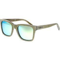 """Okulary przeciwsłoneczne męskie: Okulary męskie """"Laguna"""" w kolorze zielonym"""
