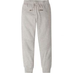 Spodnie dresowe dziewczęce: Spodnie dresowe bonprix jasnoszary melanż