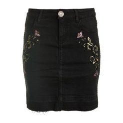Spódniczki: Desigual Spódnica Damska Exo Red 26 Czarny