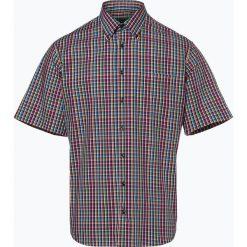Andrew James - Koszula męska łatwa w prasowaniu, niebieski. Czarne koszule męskie non-iron marki TOM TAILOR DENIM, l, z bawełny, button down, z długim rękawem. Za 99,95 zł.