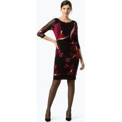 Comma - Sukienka damska, czarny. Czarne sukienki comma, w kwiaty. Za 399,95 zł.