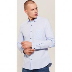 Koszula - Niebieski. Niebieskie koszule męskie marki House, l. Za 89,99 zł.