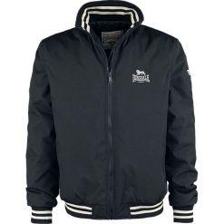 Lonsdale London Men Jacket Odiham Kurtka czarny. Czarne kurtki męskie marki Lonsdale London, xl, z aplikacjami. Za 446,90 zł.