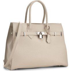 Torebka CREOLE - K10371 Jasny Beż. Brązowe torebki klasyczne damskie Creole, ze skóry. W wyprzedaży za 219,00 zł.