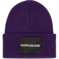 Czapka CALVIN KLEIN JEANS - J Calvin Klein Jeans K40K400759 507. Szare czapki zimowe damskie marki Calvin Klein Jeans, na zimę, z jeansu. Za 179,00 zł.