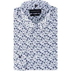 Koszula SIMONE KDWS000190. Czarne koszule męskie na spinki marki Giacomo Conti, m, z bawełny, z klasycznym kołnierzykiem. Za 199,00 zł.