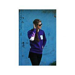Bluzy damskie: BLUZA ONE POCKET UNISEX kolory łaty