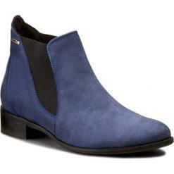Sztyblety BALDACCINI - 566500-C Patagonia Gra/Nub. Niebieskie buty zimowe damskie marki Baldaccini, z nubiku, na obcasie. W wyprzedaży za 229,00 zł.
