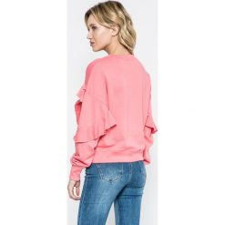 Missguided - Bluza. Szare bluzy damskie marki Missguided, z bawełny, bez kaptura. W wyprzedaży za 49,90 zł.