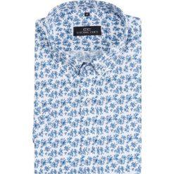 Koszula SIMONE KKBS000008. Białe koszule męskie na spinki marki INESIS, m, z bawełny, z długim rękawem. Za 149,00 zł.
