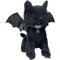 Przytulanki i maskotki: Spiral Bat Cat Maskotka pluszowa czarny