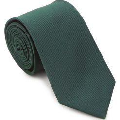 Krawat 87-7K-002-Z. Zielone krawaty męskie Wittchen, w paski, z bawełny. Za 149,00 zł.