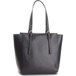 Torebka CALVIN KLEIN - Serene Shopper K60K604434 001. Czarne shopper bag damskie Calvin Klein, ze skóry. Za 1299,00 zł.