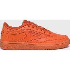 Reebok Classic - Buty Club C 85. Pomarańczowe buty sportowe damskie Reebok Classic, z gumy, reebok classic. W wyprzedaży za 319,90 zł.