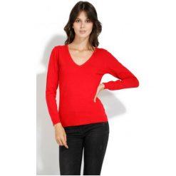 Swetry damskie: William De Faye Sweter Damski Xl Czerwony