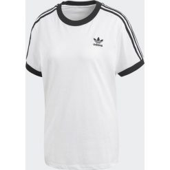 Adidas Koszulka damska Originals 3-Stripes biała r. 34  (CY4754). Białe bluzki damskie Adidas. Za 110,50 zł.