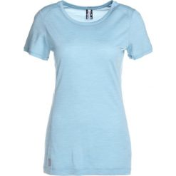 Topy sportowe damskie: Icebreaker SPHERE LOW CREWE Tshirt basic waterfall heather