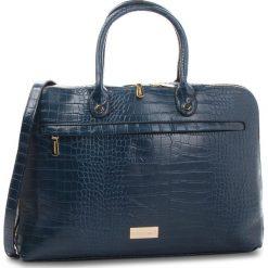 Torba na laptopa MONNARI - BAG4240-013  Navy. Niebieskie torby na laptopa Monnari, ze skóry ekologicznej. W wyprzedaży za 219,00 zł.
