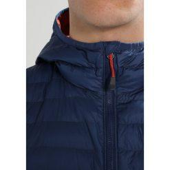 Columbia POWDER LITE LIGHT HOODED JACKET Kurtka Outdoor carbon. Niebieskie kurtki trekkingowe męskie Columbia, m, z materiału. W wyprzedaży za 399,20 zł.