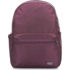 Plecaki damskie: Pacsafe Plecak damski antykradzieżowy Daysafe Blackberry (PDA20520628)