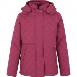 """Kurtka zimowa """"Amy"""" w kolorze czerwonym. Czerwone kurtki dziewczęce zimowe marki Ticket to Heaven, z polaru. W wyprzedaży za 122,95 zł."""