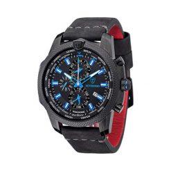 """Zegarki męskie: Zegarek """"DT-YG102-B"""" w kolorze czarno-czerwonym"""